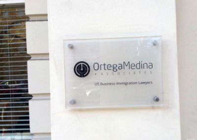 Plaques for Ortega Medina Associates