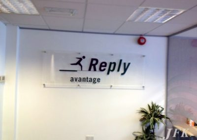 Plaques for Reply Advantage