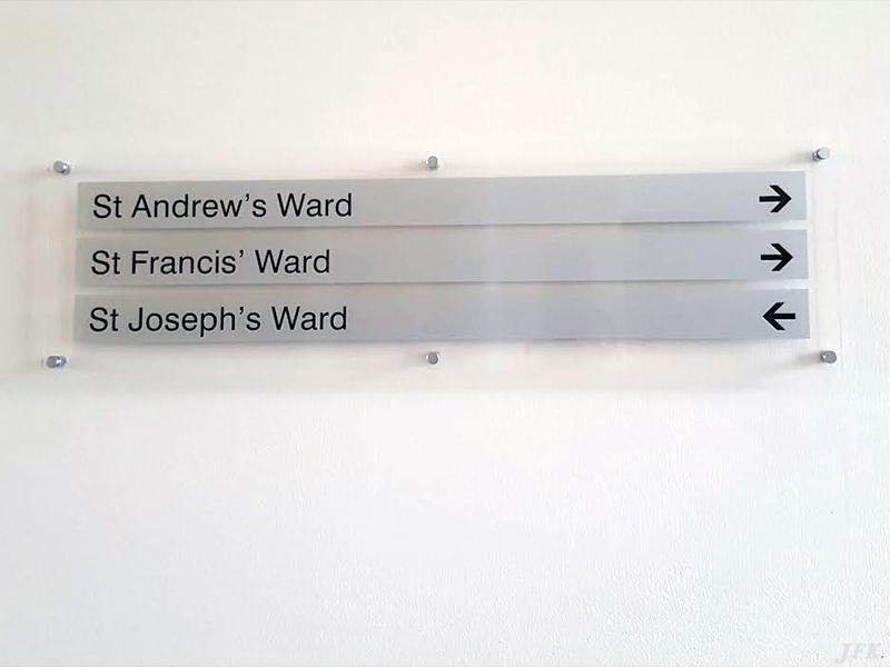 Plaques for St John & Elizabeth Hospital