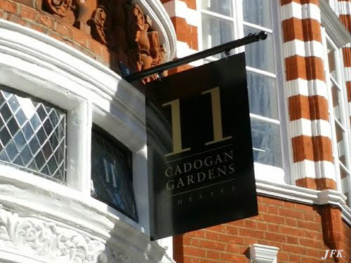 Projecting Signs for Cadogan Gardens
