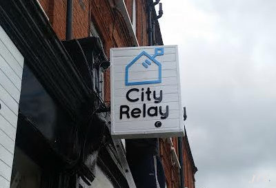 Projecting Signs for City Relay