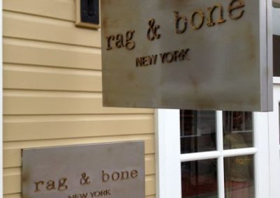 Projecting Signs for Rag And Bone