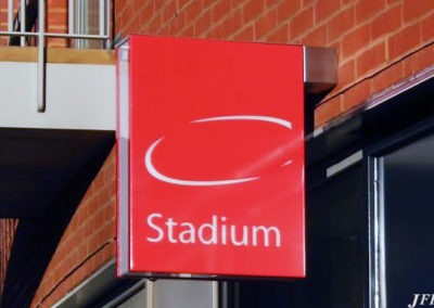 Projecting Signs for Stadium Residential