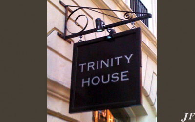 Projecting Signs for Trinity House