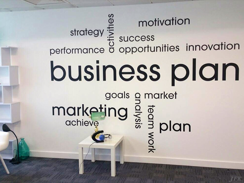 Vinyl Signage for Regus Business Centre