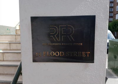 Bronze Plaque for RFR Private Property Office