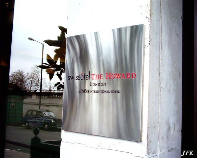 Stainless Steel Plaque for Swissotel Hotel