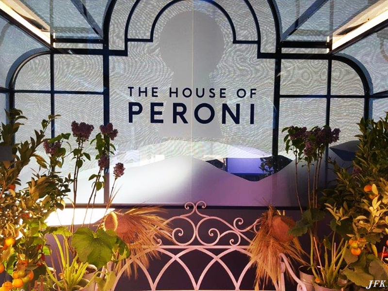 Vinyl Signage for The House Of Peroni