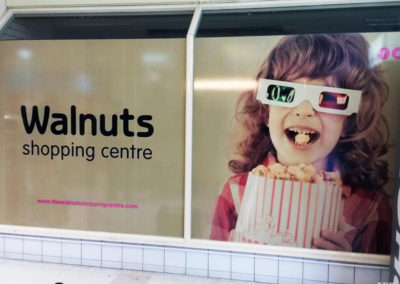Vinyl Signage for Walnut Shopping Centre