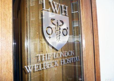 Vinyl Signage for Welbeck Hospital