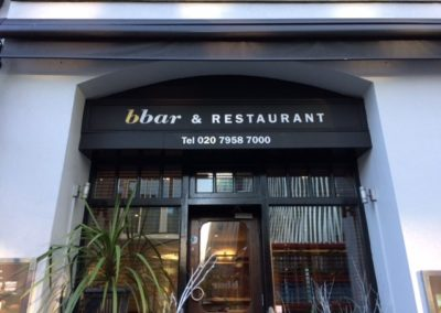 Canopy for bbar & Restaurant