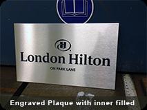 Engraved Plaque Inner Filed