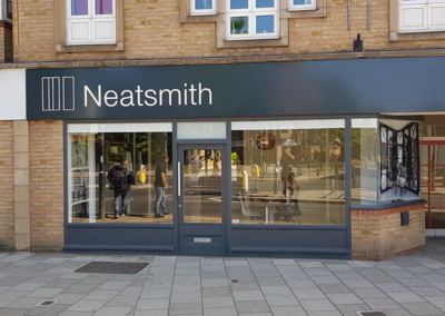 Fascia Signage for Neatsmith Teddington