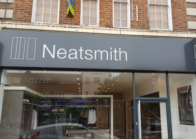 Fascia Signage for Neatsmith Hatch End