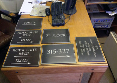 Various Plaques