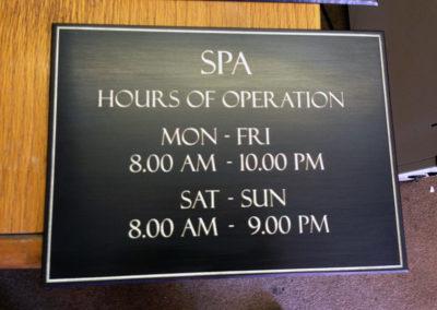 Patinated Bronze Plaque - SPA