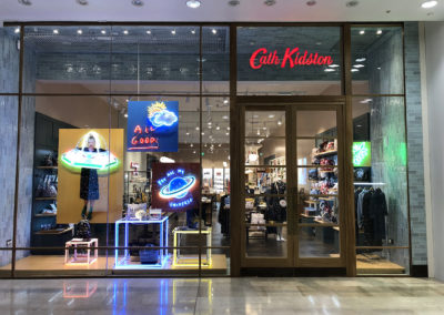 Bespoke Neon Signage for Cath Kidston