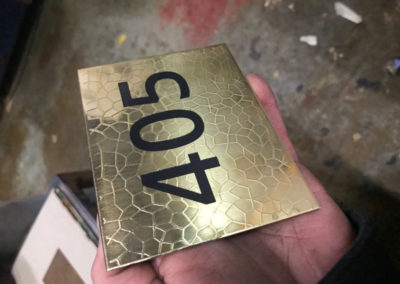 Bespoke Polished Brass