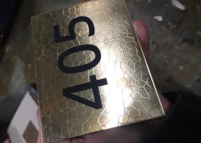 Bespoke Polished Brass