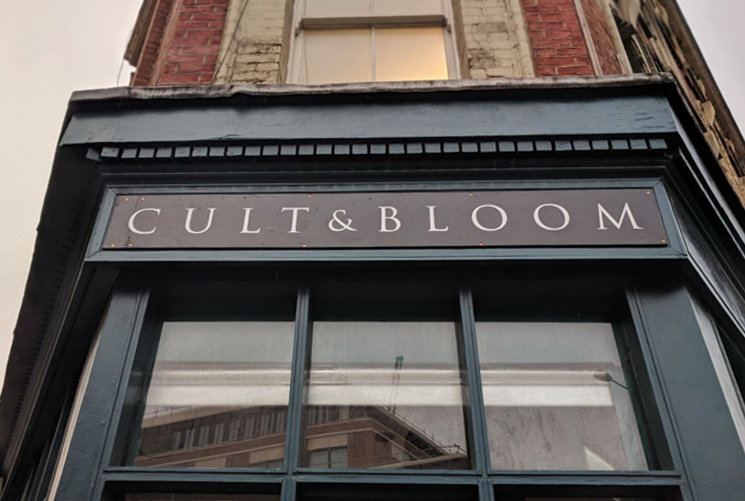 Signwriting for Cult & Bloom