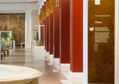 Large Bronze Wall Plaques for the British Museum