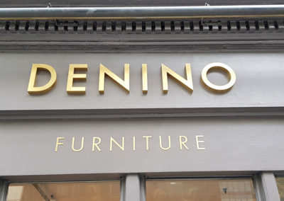 Gold Rimex Letters – Denino Interiors