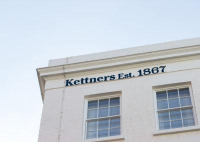 Fascia Signage for Kettner's