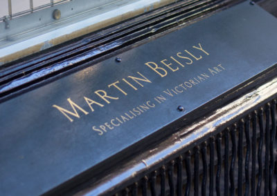 Fascia Signage for Martin Beisly