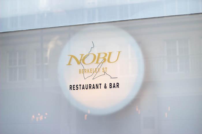 Detail and Menu Signage for Nobu