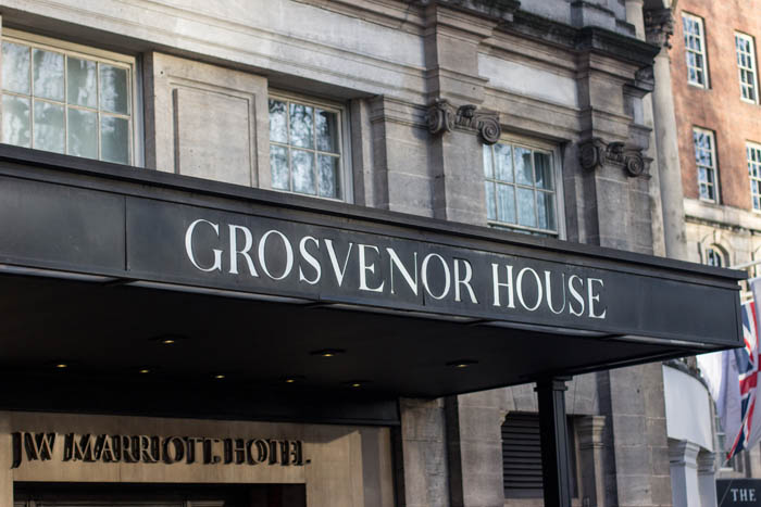 Fascia Signage for The Grosvenor Hotel
