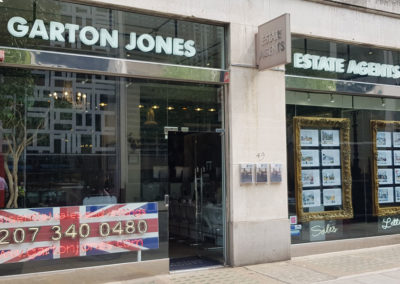 Fascia Signage for Garton Jones