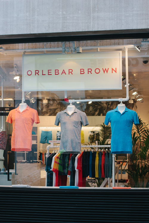 Fascia Signage for Orlebar Brown