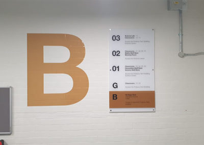 Wayfinding Signage for Central Foundation School