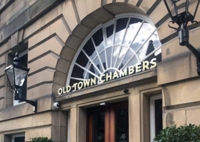 3D Illuminated Letters – Cheval Old Town Chambers